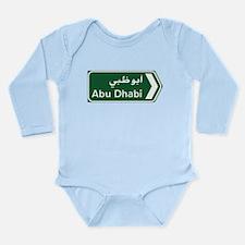 Cool Abu Long Sleeve Infant Bodysuit