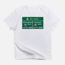 Funny Atlanta Infant T-Shirt