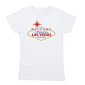 Welcome to Fabulous Las Vegas, NV Girl's Tee