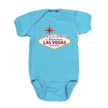 Welcome to Fabulous Las Vegas, NV Baby Bodysuit