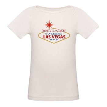 Welcome to Fabulous Las Vegas Organic Baby T-Shirt