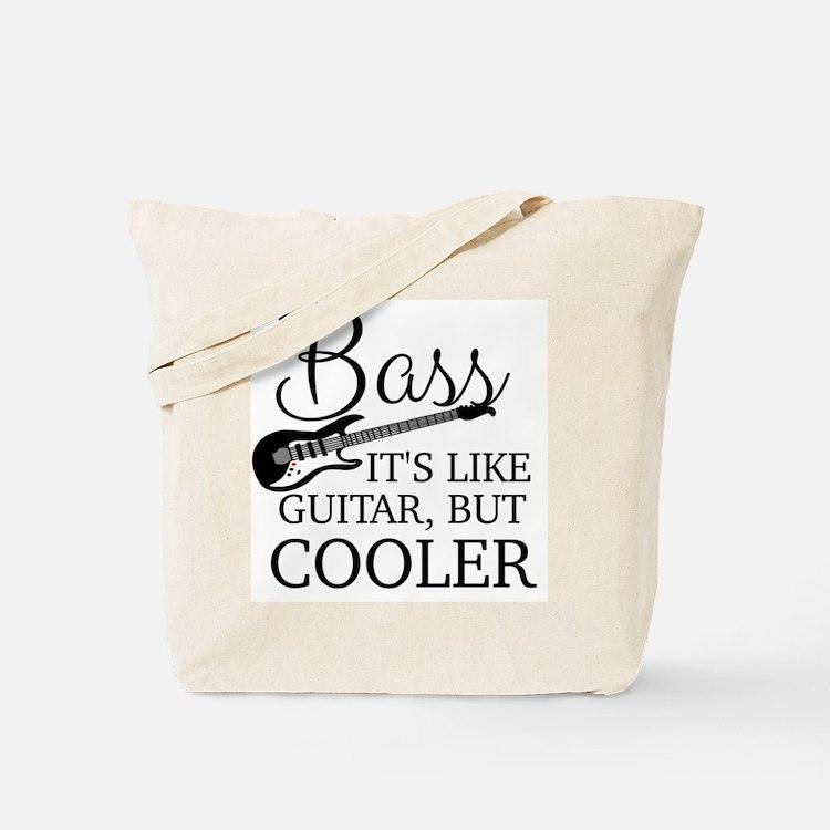 Cute Bass guitar Tote Bag