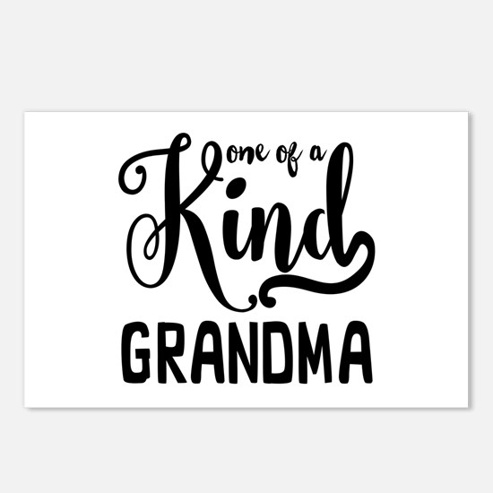 One of a kind Grandma Postcards (Package of 8)