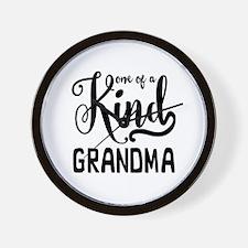 One of a kind Grandma Wall Clock