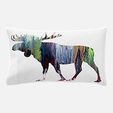 Cute Moose Pillow Case