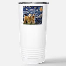 Cute Soft coated wheaten terrier Thermos Mug