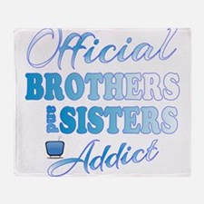 Official Brothers and Sisters Addict Throw Blanket