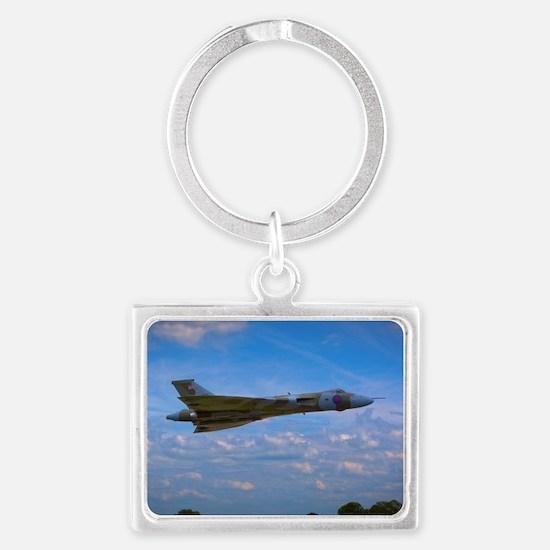 Cute Aerospace Landscape Keychain