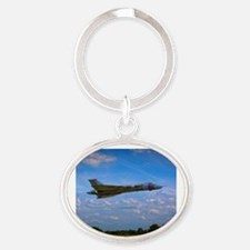 Cute Aerospace Oval Keychain