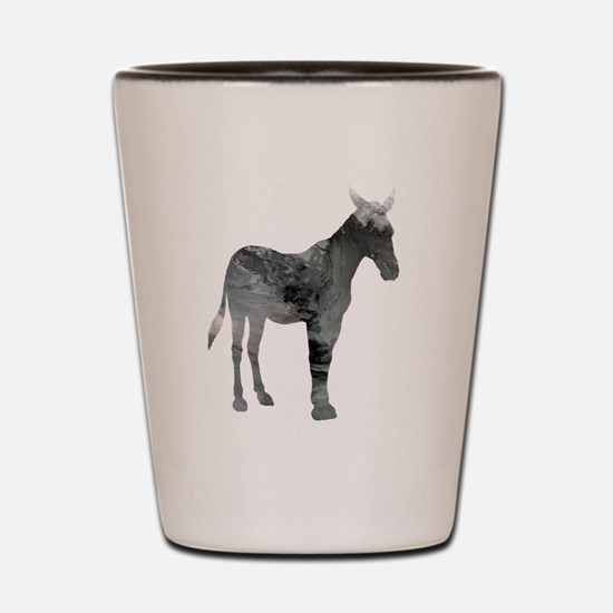 Cute Mule Shot Glass