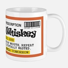 Whiskey Prescription Mugs