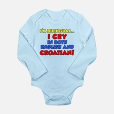 Bilinqual Cry Croatian English Body Suit