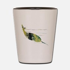 Funny Narwhal Shot Glass