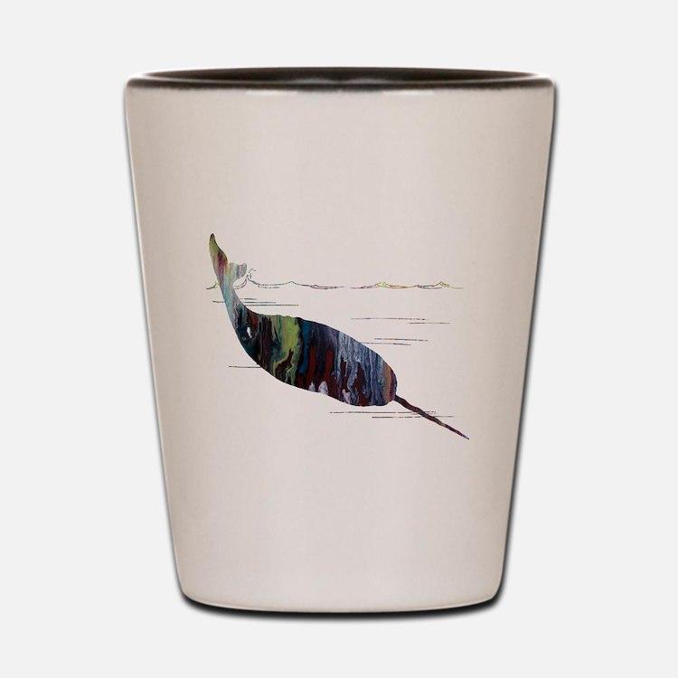 Cute Narwhal Shot Glass
