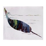 Narwhal Fleece Blankets