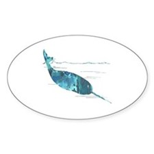 Cute Narwhal Decal