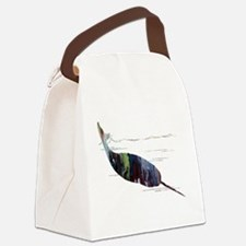 Cute Narwhal Canvas Lunch Bag