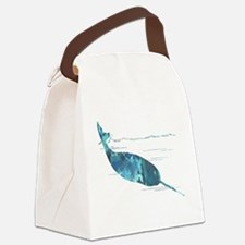 Unique Narwhal Canvas Lunch Bag