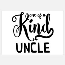 One of a kind Uncle Invitations