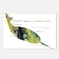 narwhal Postcards (Package of 8)