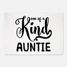 One of a kind Auntie 5'x7'Area Rug