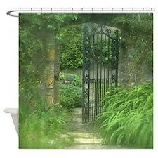 Garden Gate Shower Curtain