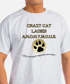 Crazy Cat Ladies Anonymous T-Shirt