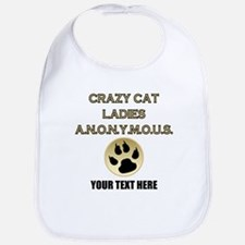 Custom Crazy Cat Ladies Bib
