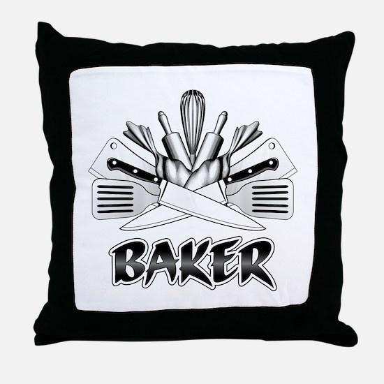 Culinary Arts: Baker Throw Pillow