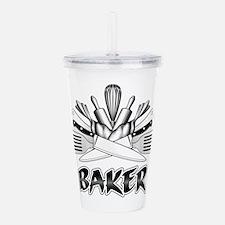 Culinary Arts: Baker Acrylic Double-wall Tumbler