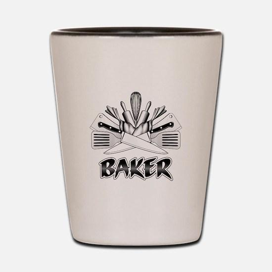 Culinary Arts: Baker Shot Glass