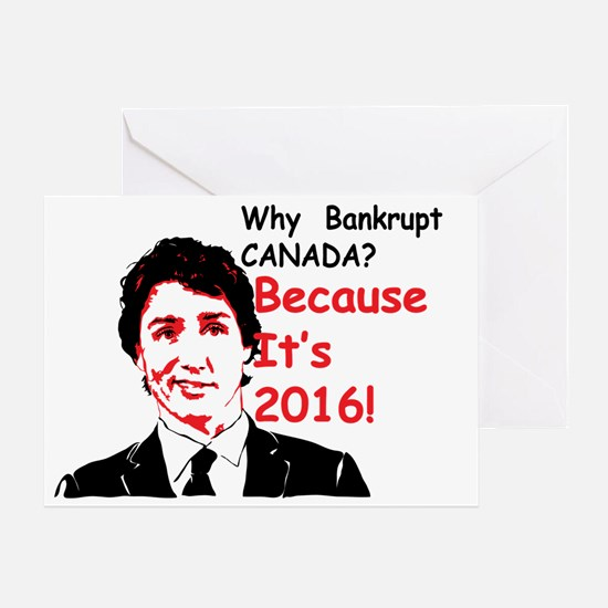 Unique Canadian politics Greeting Card