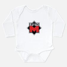 Unique Cairo Long Sleeve Infant Bodysuit