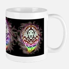 Lion Psychedelic Pop Art Mugs