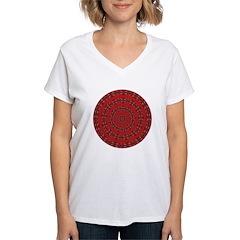 Red Pattern 003 Shirt
