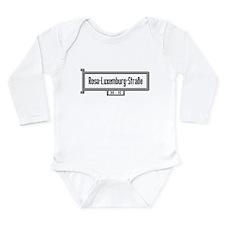 Cute Luxemburg Long Sleeve Infant Bodysuit