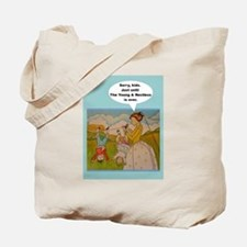 Cute Retro tv Tote Bag