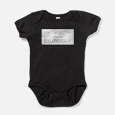 Cute Lazio Baby Bodysuit