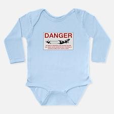 Cute Netherlands antilles Long Sleeve Infant Bodysuit