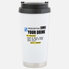 Personalize Prescription Drink Travel Mug