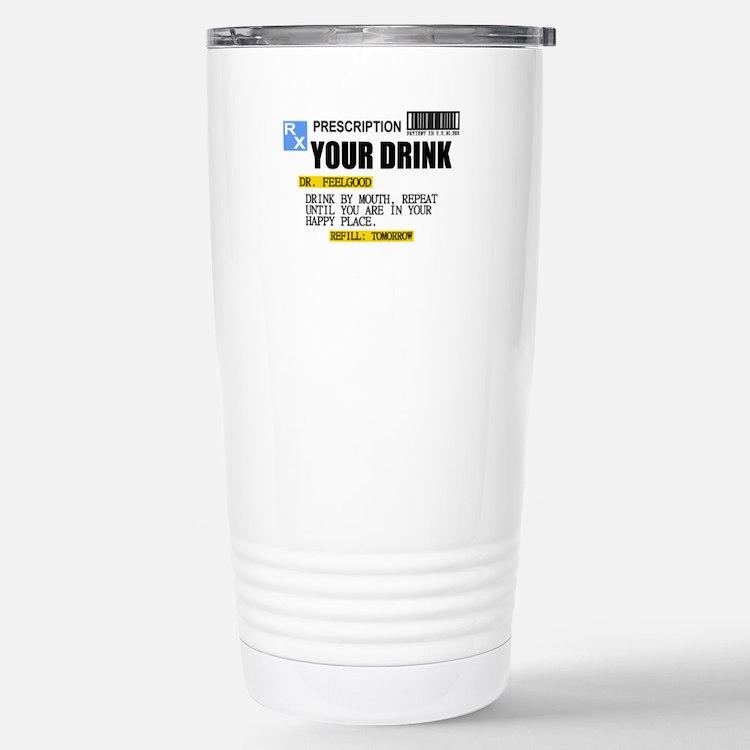 Personalize Prescription Drink Travel Mug