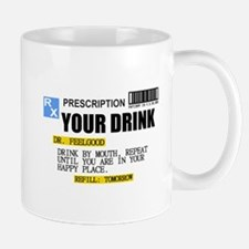Personalize Prescription Drink Mugs
