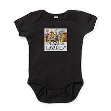 Cute Madrid Baby Bodysuit