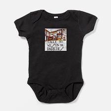 Unique Madrid city Baby Bodysuit