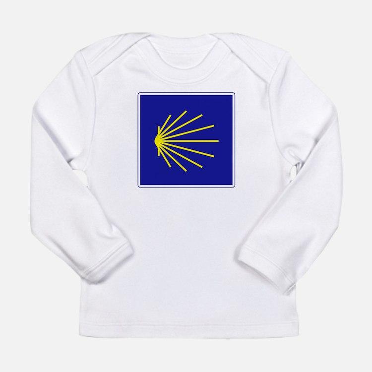 Cute Spain Long Sleeve Infant T-Shirt