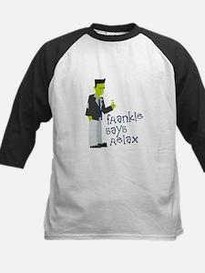 Frankenstein Says Relax Baseball Jersey