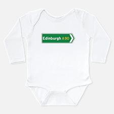 Cool Motorway Long Sleeve Infant Bodysuit