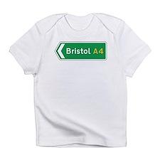 Bristol Roadmarker, UK Infant T-Shirt