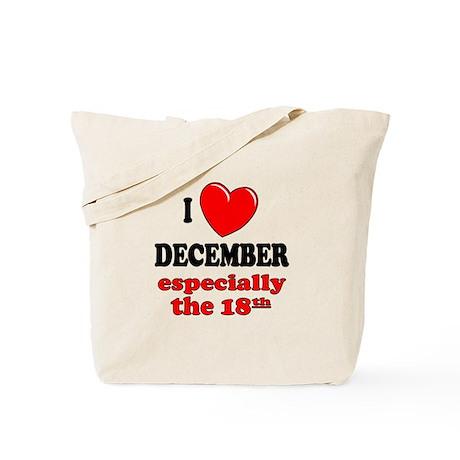 December 18th Tote Bag
