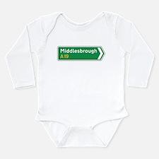Motorway Long Sleeve Infant Bodysuit